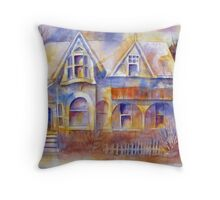 The Grand Dame of Cabbagetown Throw Pillow