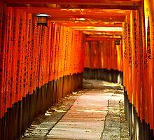 Fushimi Inari-taisha Shrine by Andrew & Mariya  Rovenko