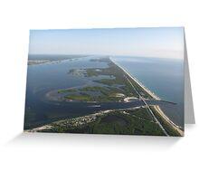 Indian River Lagoon and Sebastian Inlet Greeting Card