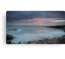 Sound of Jura at Sunset Canvas Print