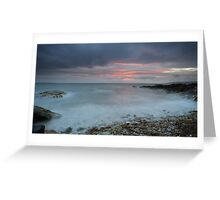Sound of Jura at Sunset Greeting Card