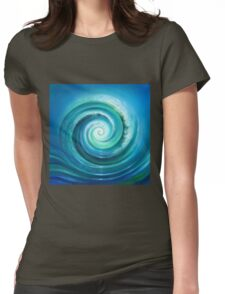 The Return Wave Womens Fitted T-Shirt