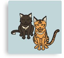 Cyggy and Pipi Canvas Print