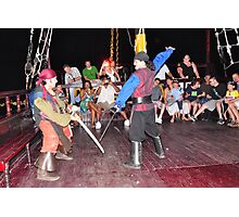 Pirate Sword Fight Photographic Print
