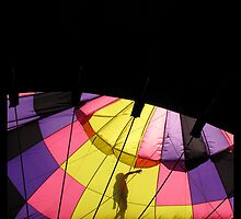 Preparing to Fly - Colorado Springs Balloon Classic by Limajo