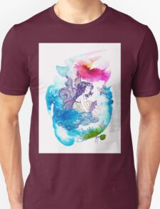 """With the Head in the Clouds"" from the series: ""Angels of Protection"" for Kids Unisex T-Shirt"