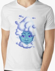 On a Cloudy Day Mens V-Neck T-Shirt