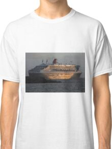 RMS Queen Mary 2 at Sunset Classic T-Shirt