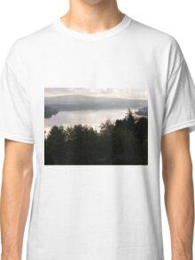 light misty river Derry Ireland Classic T-Shirt