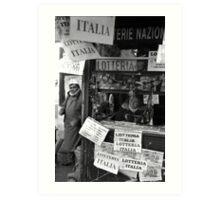 Lotteria Italia Art Print