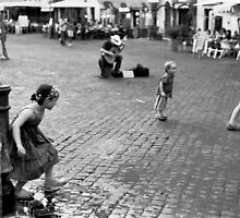Campo de' fiori, kids by Mauro Scacco