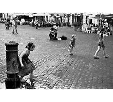 Campo de' fiori, kids Photographic Print