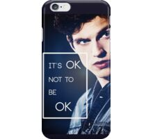 It's ok, Isaac. iPhone Case/Skin