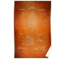 Soldier Armor Patent 1919 Poster
