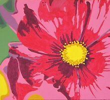 Pink Flower by Sarah McDonald