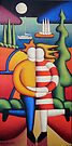 The lovers with Yacht by Alan Kenny