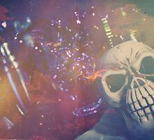 Purple Skull by Nick Nygard