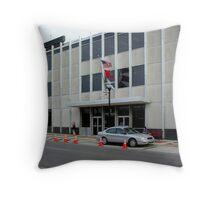 City Hall Cones Throw Pillow
