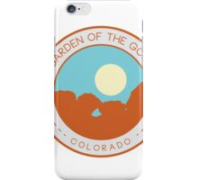 Garden of the Gods:  Kissing Camels iPhone Case/Skin