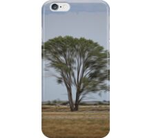 Lone Tree On the Prairie iPhone Case/Skin