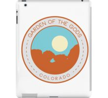 Garden of the Gods:  Kissing Camels iPad Case/Skin