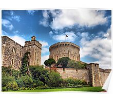 The Round Tower ~ Windsor Castle (The Queen's Residence) Poster