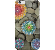 Pyramid Mandala Stones iPhone Case/Skin