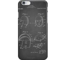 Vintage Soldier Head Gear Patent Circa 1919  iPhone Case/Skin