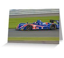 Beechdean-Mansell Ginetta-Zytek Greeting Card