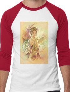 """THE TAURUS"" - Protective Angel for Zodiac Sign Men's Baseball ¾ T-Shirt"