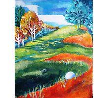 Golf fun #2 - Bad lie Photographic Print