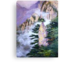 Huang Shan Magic brush Canvas Print
