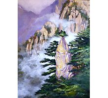 Huang Shan Magic brush Photographic Print