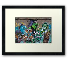Wicked Green Witch Framed Print