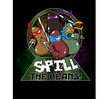 Spill The Beans! Photographic Print