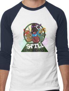 Spill The Beans! Men's Baseball ¾ T-Shirt
