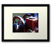 Working Up a Head of Steam Framed Print