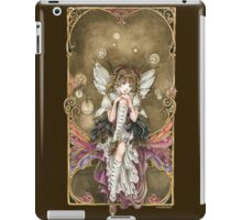 Gears and Glass Steampunk Fairy iPad Case/Skin