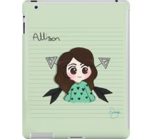 Ally A Saves the Day! iPad Case/Skin