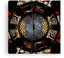 COVENTRY CATHEDRAL WINDOWS MONTAGE Canvas Print