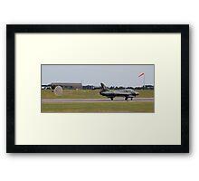 Hawker Hunter T.8B WV322 Framed Print