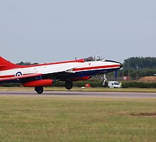 Hawker Hunter FGA.9 XE601 by Rees Adams