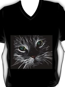 Abstract Cat T-Shirt