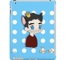 King on the Chessboard iPad Case/Skin