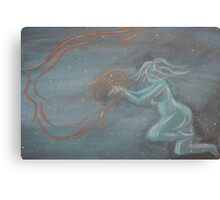 Whoso gives one particle of dust Canvas Print