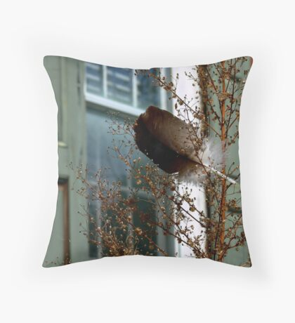 The Feather Throw Pillow