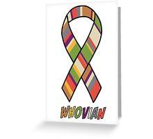 Whovian Awareness Greeting Card