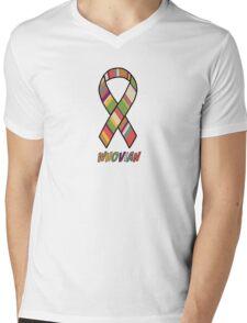 Whovian Awareness Mens V-Neck T-Shirt