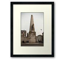 National Monument Amsterdam Framed Print