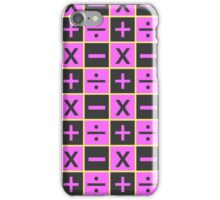 trish una pattern iPhone Case/Skin
